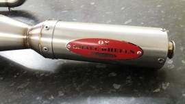 L/H Stainless Exhaust OSW